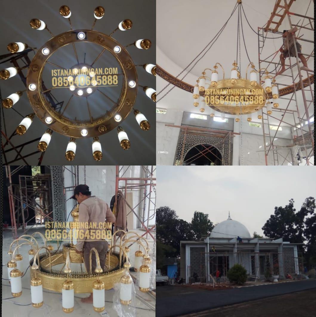 lampu masjid tembaga kuninganlampu masjid tembaga kuningan