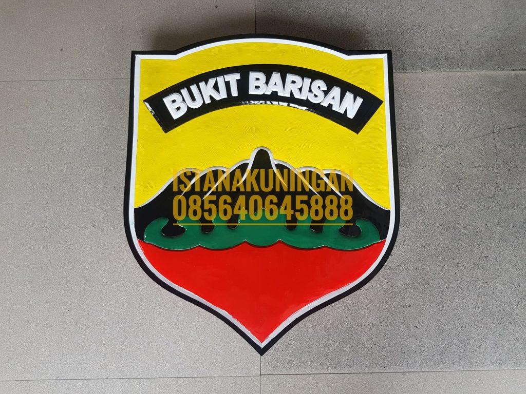 Kerajinan Logo Tembaga Kuningan